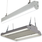 GE Suspended and Low Bay Strip Light Fixtures