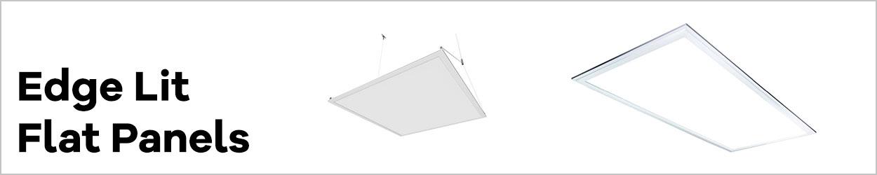 Edge Lit LED Flat Panels