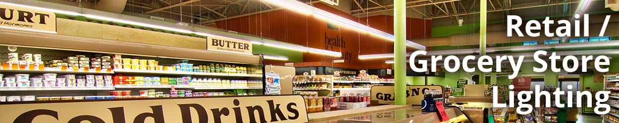 Grocery Sales Floor Lighting