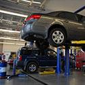 Automotive Service Bay Lighting