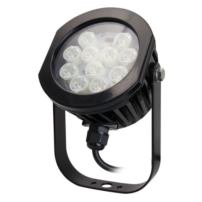 TCP Lighting LEDSL16K50BL01 16 Watt 16W LED Black Spot Light 5000K
