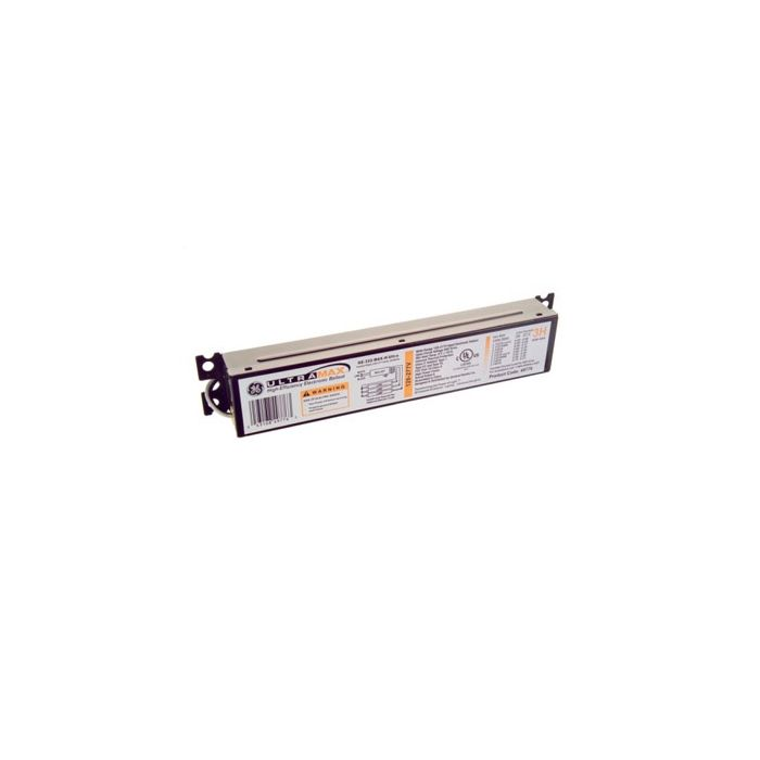 Image GE Lighting 49767 GE259MAXPN/ULTRA Electronic High Efficiency Multivolt Instant Start Ballast for 2 or 1- F96T8 Fluorescent Lamps Normal Ballast Factor