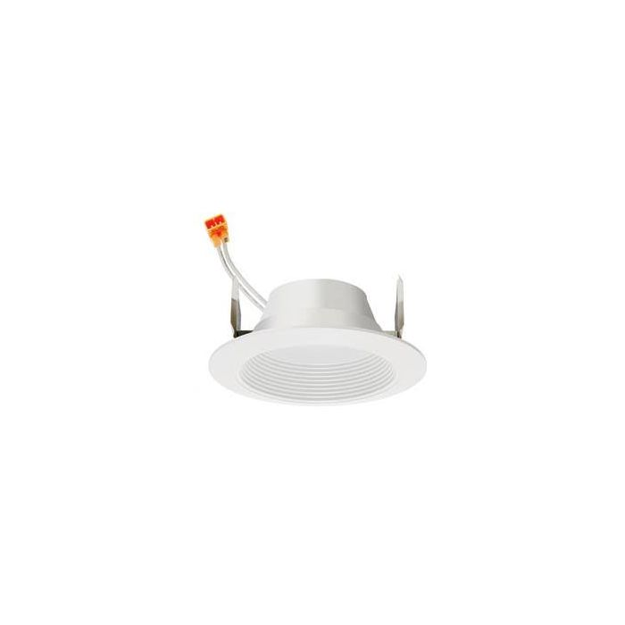 Juno Lighting 4RLD-G3-09LM 4-Inch LED Round Baffle Retrofit Trim Dimmable 75W Incandescent Equivalent