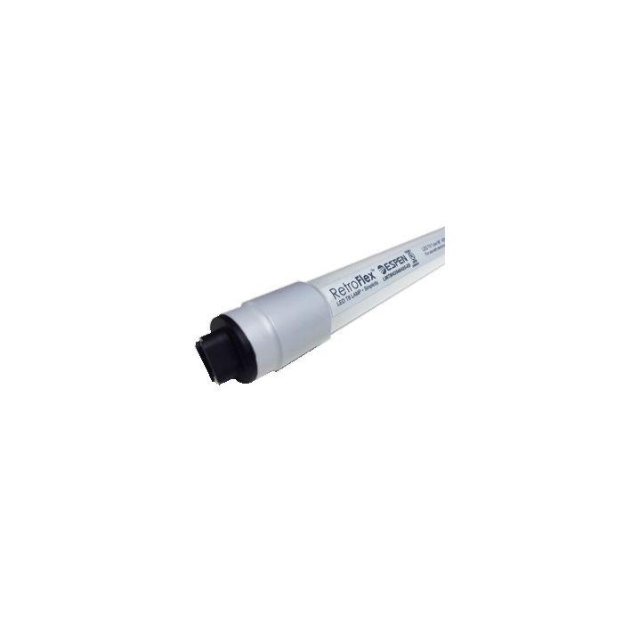 ESPEN Technology L96T8HO/840/42G-EB 42 Watt 96 Inch 8 Foot Ballast Compatible Retrofit LED T8 Glass Tube Lamp 4000K