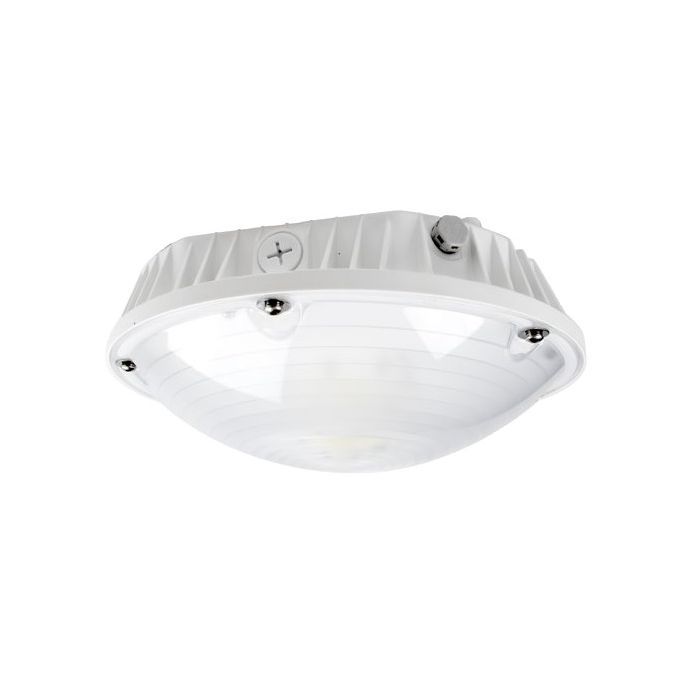 ATG Electronics GRL-60-50-F 60 Watt LED Garage Fixture Dimmable 5000K Frosted Lens