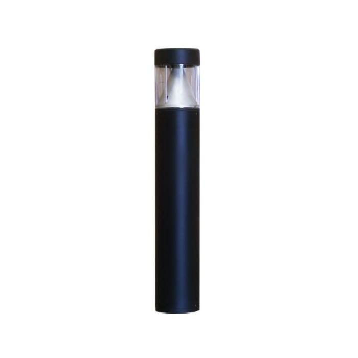 ILP BLFT 17 Watt LED Bollard Flat Top Light Fixture with Cone Reflector -  320W MH Replacement