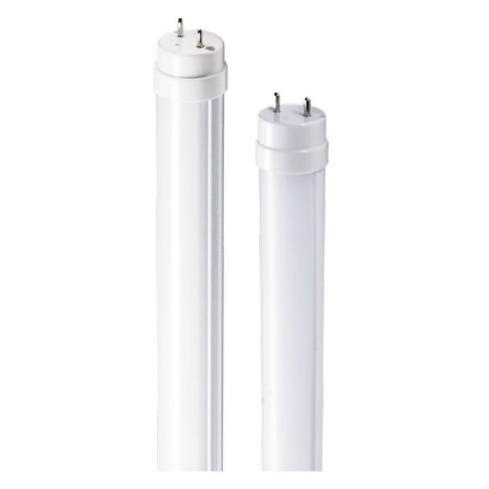 EIKO LED18WT8F/48/850K-G6D 15 Watt 4 Foot DLC Listed LED T8 Linear Bypass Tube Replacement Lamp with Frosted Glass Lens