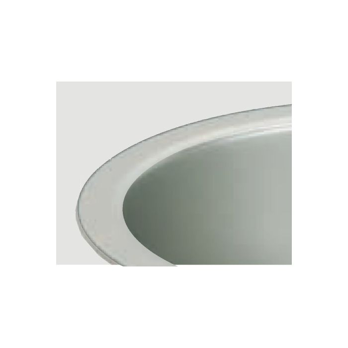 """CREE KR6T-SSGC-WF Trim Finish Color For 6"""" KR Series Downlights Soft Satin Glow Clear White Flange Finish"""