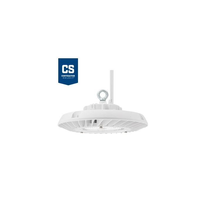 Lithonia Lighting JEBL 24L DLC Premium Qualified 181.6 Watt Contractor Select Round LED High Bay Light Fixture Dimmable 120-277V Replaces 400W HID