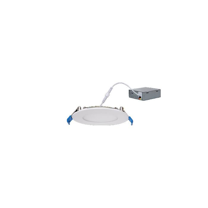 SLG Lighting DF 3R 5 G1 9FS Energy Star Rated 8 Watt 3in Round LED Ultra Thin Recessed Downlight Fixture Selectable CCT 120V