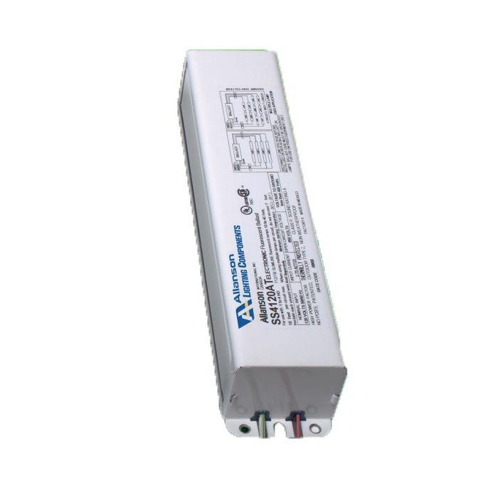 Allanson EESB-1048-26L 2-6 Lamp Fluorescent Ballast - EESB Rapid Start - High Output 120V