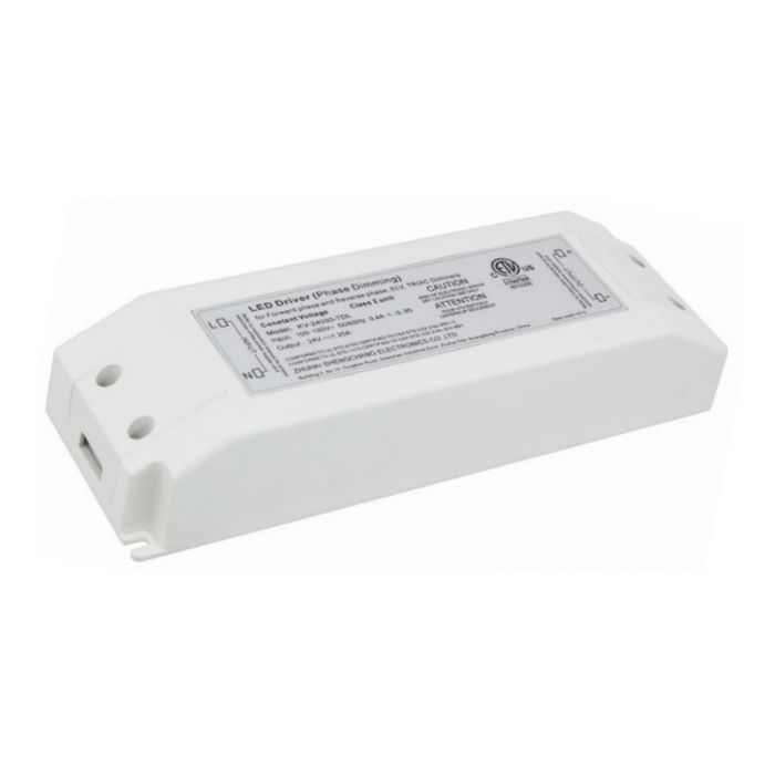 American Lighting ELV-45 Class 2 Rated 45 Watt Dry Location Constant Voltage Driver for LED Lighting