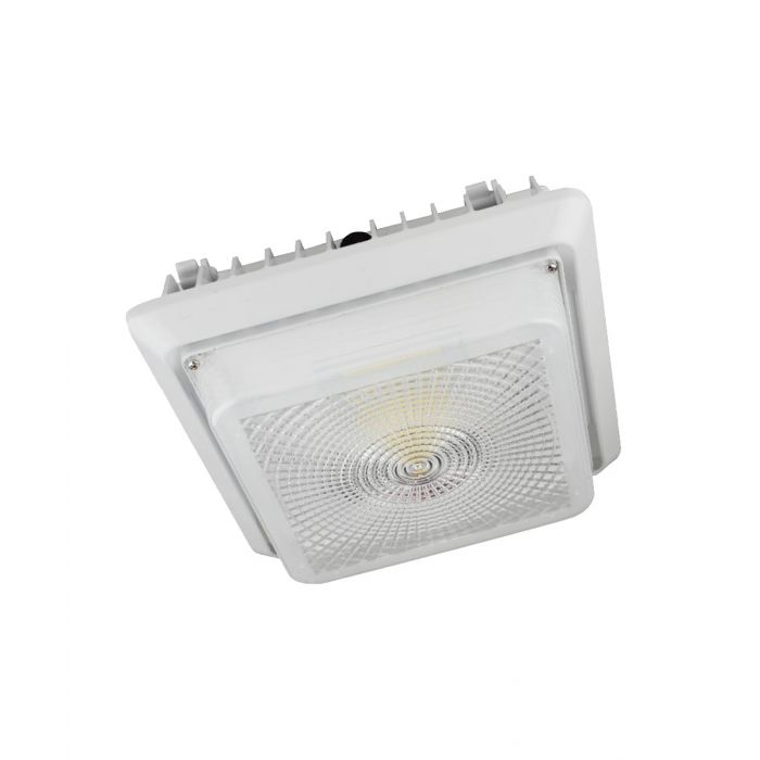 Paclights FCPG Series DLC Qualified LED Canopy Parking Garage Light Fixture 5000K