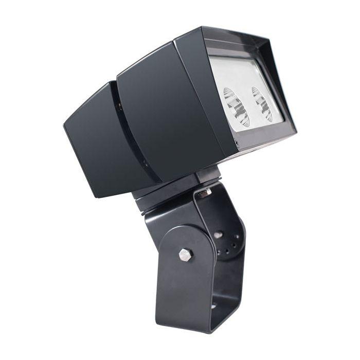 Bronze Finish RAB Lighting FFLED26TNB55 26 Watts LED Floodlight Fixture Trunnion Mount 5H X5V Beam Spread 4000K (Product Configurator)