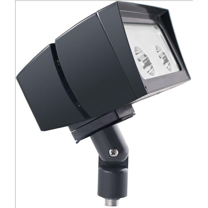Bronze Finish RAB Lighting FFLED26YB44 26 Watts LED Floodlight Fixture Arm Mount 4H X 4V Beam Spread 3000K (Product Configurator)