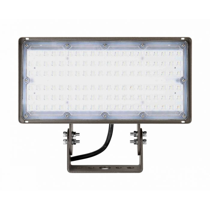 Arcadia Lighting FLCX-100W DLC Listed 100 Watts Flood Light 120-277V Dimmable