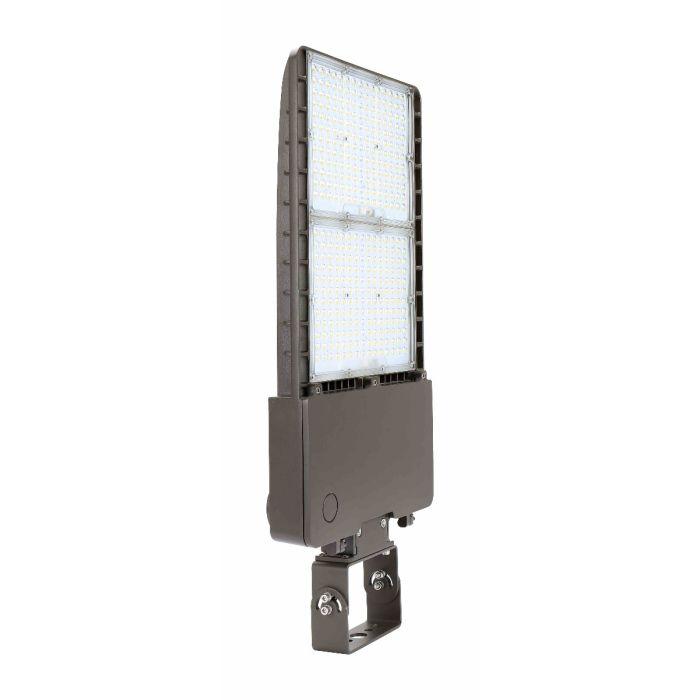 Arcadia Lighting FLFX-300W DLC Listed 300-Watts LED Flood Light Fixture 120-277V Dimmable