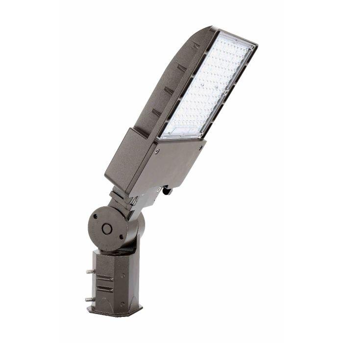 Arcadia Lighting FLFX-200W DLC Listed 200-Watts LED Flood Light Fixture 120-277V Dimmable