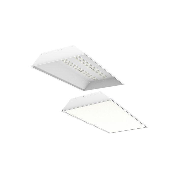 ILP GH24 Series DLC Premium 2x4 LED Grid Frame High Bay Fixture