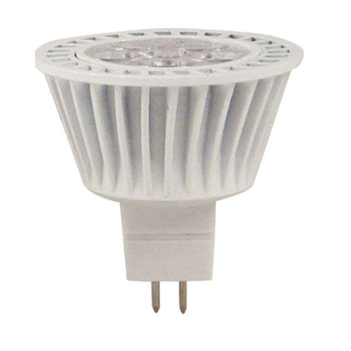 NaturaLED LHO-7MR16/FL 7 Watt LED MR16 Bulb Lamp 12V 5802 3000K GU5.3 Base