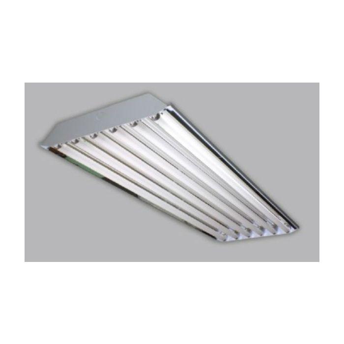 Image 1 Alphalite HBA-654-UNV-PSN HBA Series 6 Lamp F54T5HO High Performance Fluorescent High Bay Programmed Start