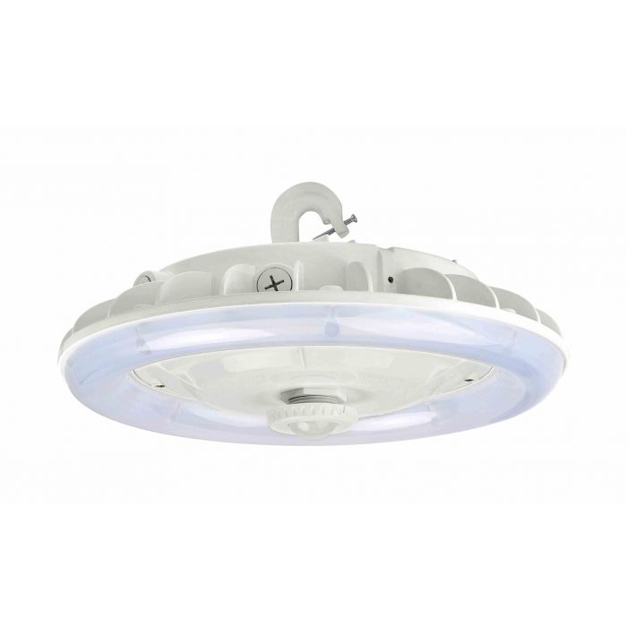 Arcadia Lighting HBCX-100W DLC Premium Listed 100-Watts LED Circular High Bay Fixture 120-277V Dimmable