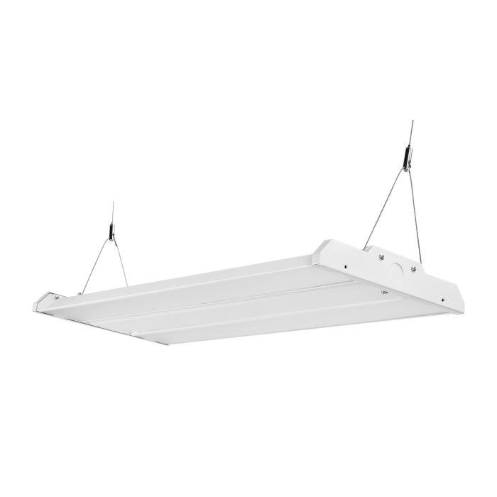 Arcadia Lighting HBLX-12-90W DLC Premium Listed 1x2 90-Watts LED High Bay Fixture 120-277V