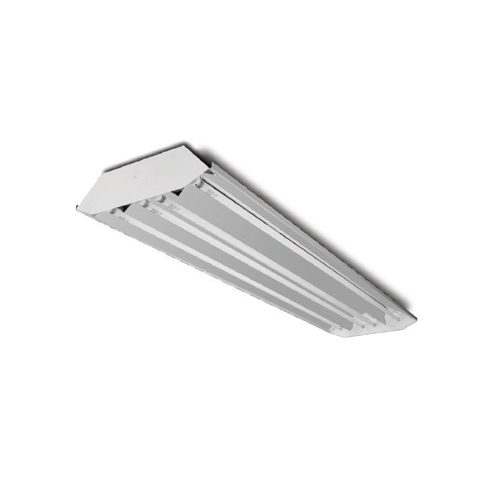 Howard Lighting HFB3A454APSMV000000I HFB3 54W 54 Watt 4 Lamp T5HO High Bay Fluorescent Standard Specular (86%) Program Rapid Start Ballast Multi-Volt