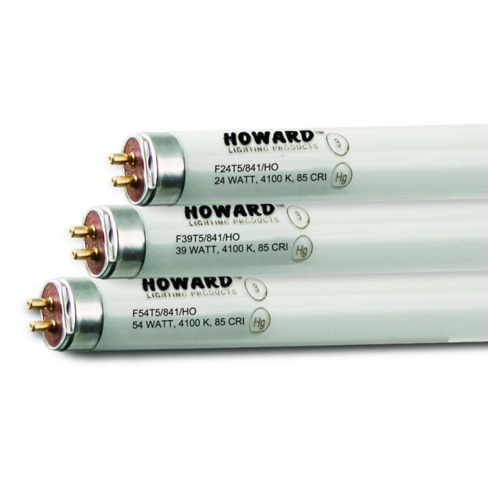 Howard Lighting F54T5/841/HO 54W T5 High Output Linear Fluorescent Lamp 841 4100K