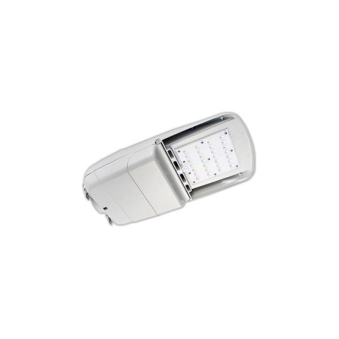 Howard Lighting L401L65W40KT510GRM DLC Qualified 65 Watt LED Street and Area Light Fixture Dimmable 4000K 120-277V