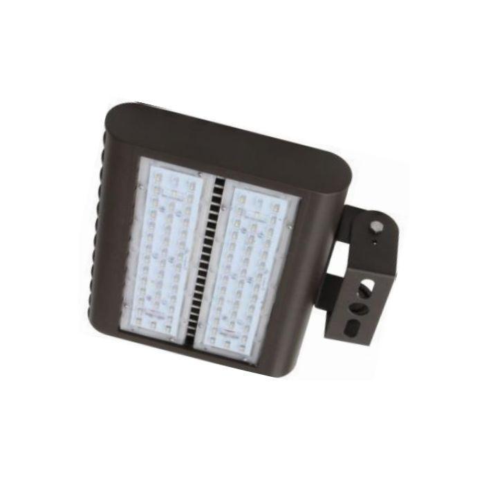 Howard Lighting XFL-5100-LED-MV-TR DLC Qualified 100 Watt LED Flood Light Fixture with Trunnion Mount Dimmable 5000K