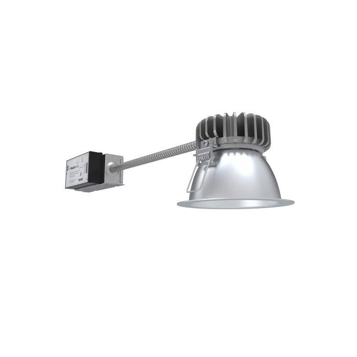 Lithonia Lighting LBR4 ALO2 SWW1 AR LSS MWD MVOLT UGZ QDS 4 Inch LED Round Retrofit Downlight Switchable CCT and Lumens