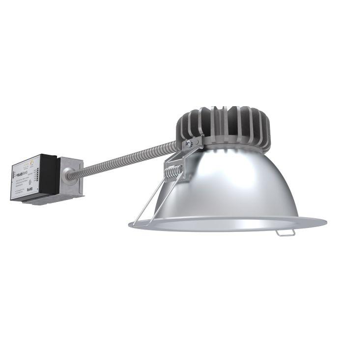 Lithonia Lighting LBR6 ALO2 SWW1 AR LSS MWD MVOLT UGZ QDS 6 Inch LED Round Retrofit Downlight Switchable CCT and Lumens