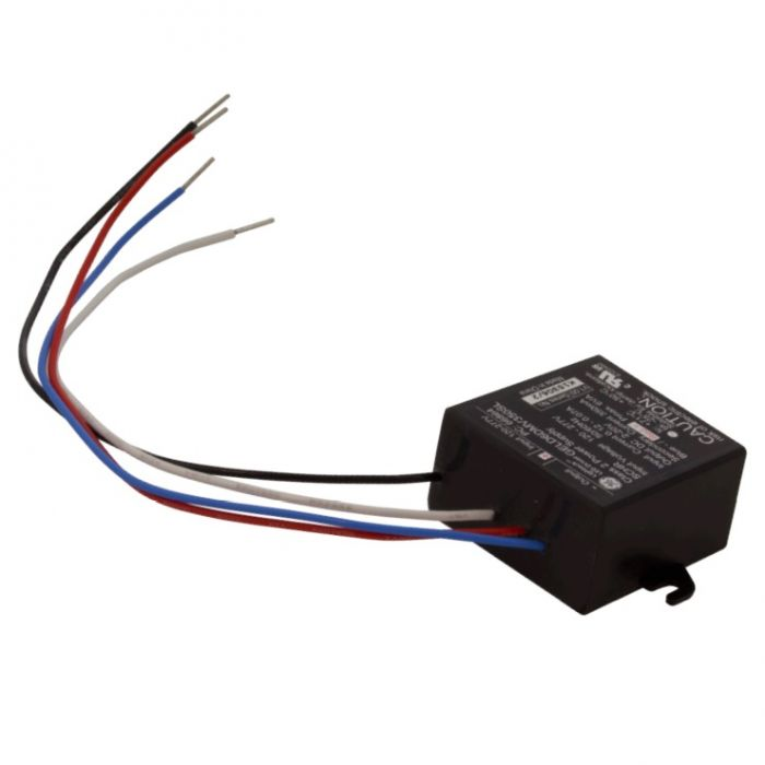 American Lighting LED-DR6-350 Class 2 Rated 6 Watt 350mA Constant Voltage Hardwire Driver 120-277V AC