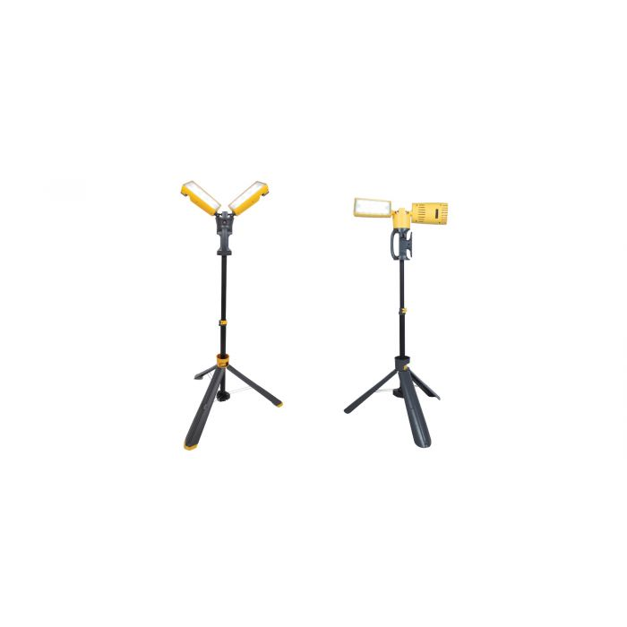 NaturaLED LED-PWL Portable Work Light with Stand Yellow 120V 5000K