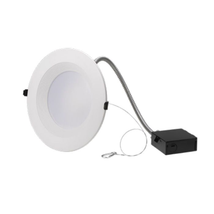 NaturaLED LED8CRL27SW-200L Energy Star Rated 12W/19W/27W 8-Inch LED Commercial Recessed Downlight Fixture 120-277V - Replaces 200W Incandescent