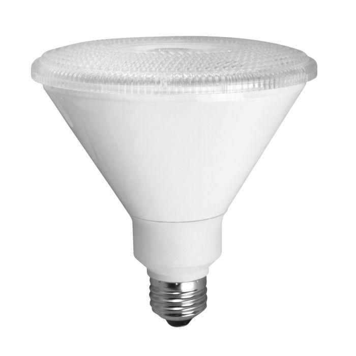 TCP Lighting LED14P38V27KNFL 14 Watt 14W PAR38 Non-Dimmable Narrow Flood Lamp 2700K