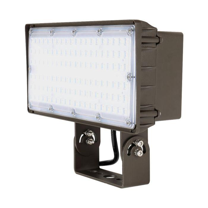 Liron Lighting LEDLFL100W 100 Watt LED Square Flood Light Fixture 120-277V - 250W HID Equivalent