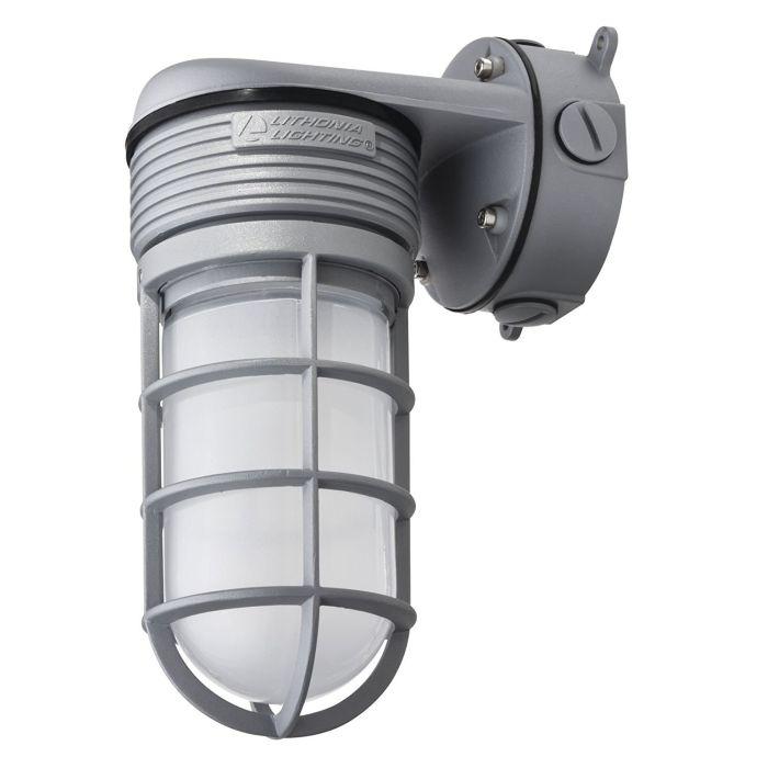 Lithonia Lighting OLVTWM M6 LED Glass Vapor Tight Wall Mount, 15W