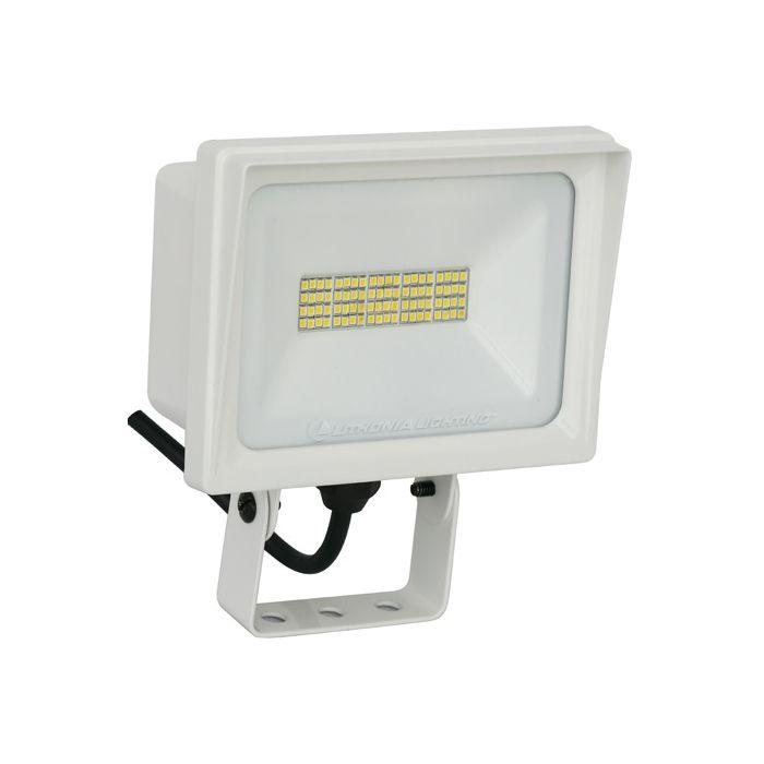 Lithonia Lighting QTE LED P2 DLC Listed 40 Watt Contractor Select LED Floodlight Light Fixture 120V Replaces 300W Halogen