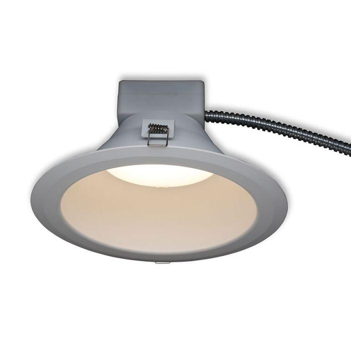GE Lighting LRXR818840MD 8 Inch 22 Watt Round LED Dimmable Retrofit Downlight Fixture 93034755