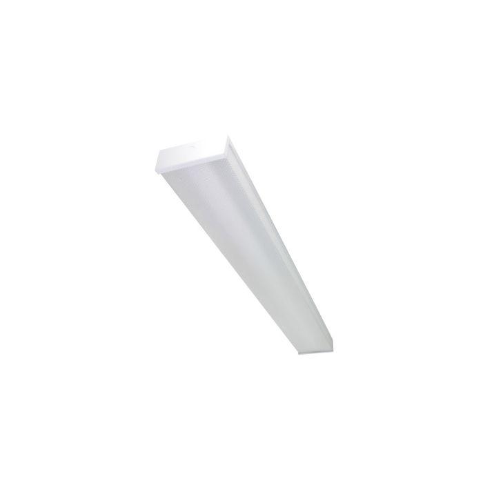 Maxlite LSU2XT8USE4806 Lamp Ready Linear 2XT8 LED Utility Strip Wrap Fixture 120-277 Single Ended 48L X 6W - 22W per Lamp Max Equivalent