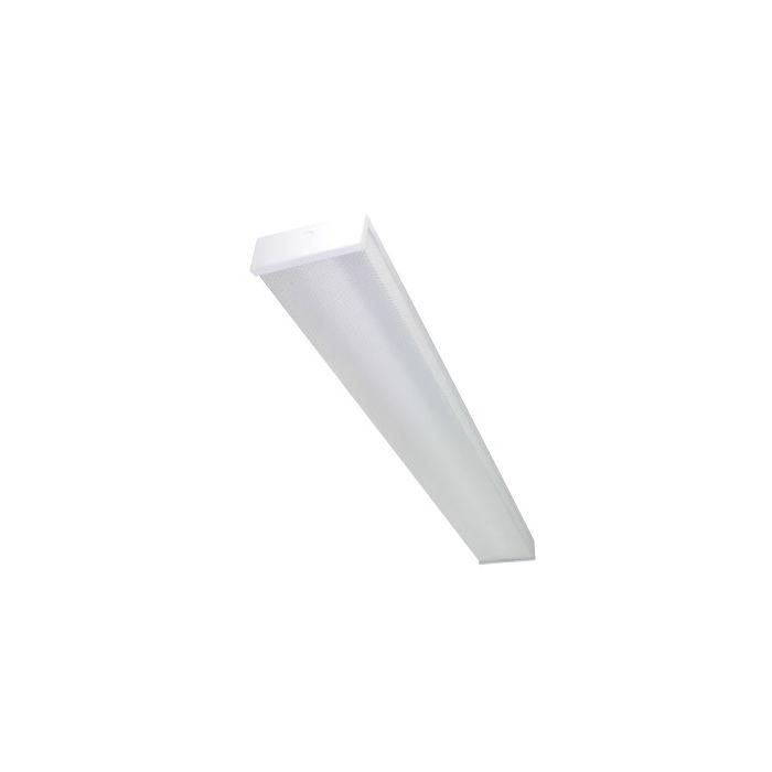 Maxlite LSU4U45 DLC Premium Listed 45 Watt 4Ft LED Utility Wrap Fixture Dimmable 120-277V - 3x 32W T8 Equivalent