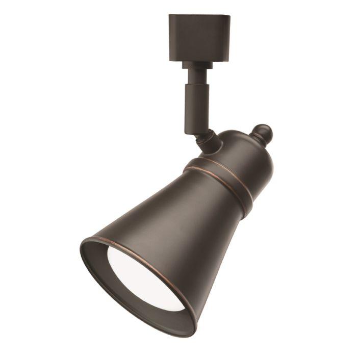 Lithonia Lighting LTHBRSD BR20 LED 27K 8 Watt Decorative LED Lamp Shade Track HeadLithonia Lighting LTHBRSD BR20 LED 27K 8 Watt Decorative LED Lamp Shade Track Head