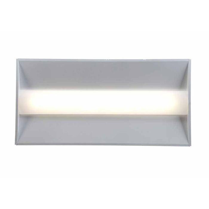 GE Lighting LVT24B048MM835VQLTWHTE 43 Watt 2X4 LED LVT Series T-Grid Recessed Troffer Fixture