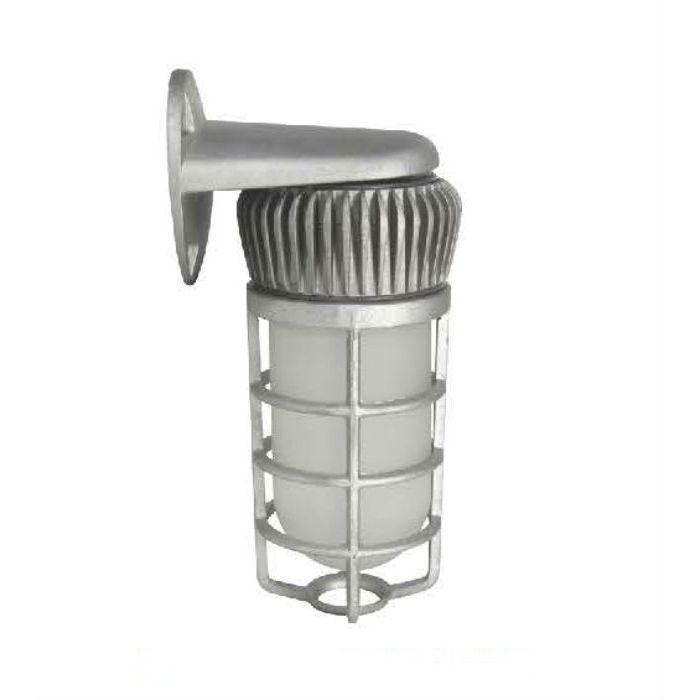 Image 1 Maxlite MLVPW14LED50CP 74278 14 Watt LED Vaporproof Jelly Jar Wall Mount Fixture