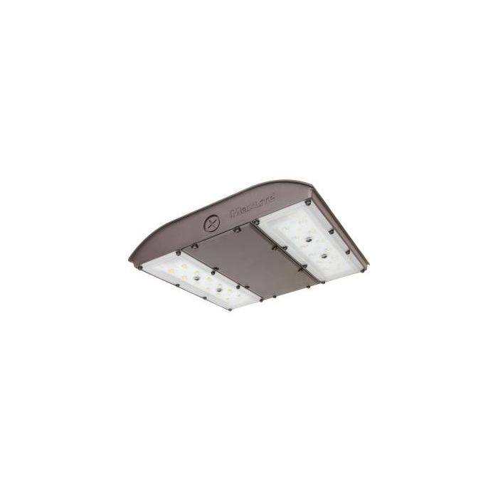 Maxlite MP-CP28UA-40BEM MPulse 28 Watt LED Canopy Asymmetric Light Fixture with Battery Backup Dimmable 120-277V 150W MH Equivalent