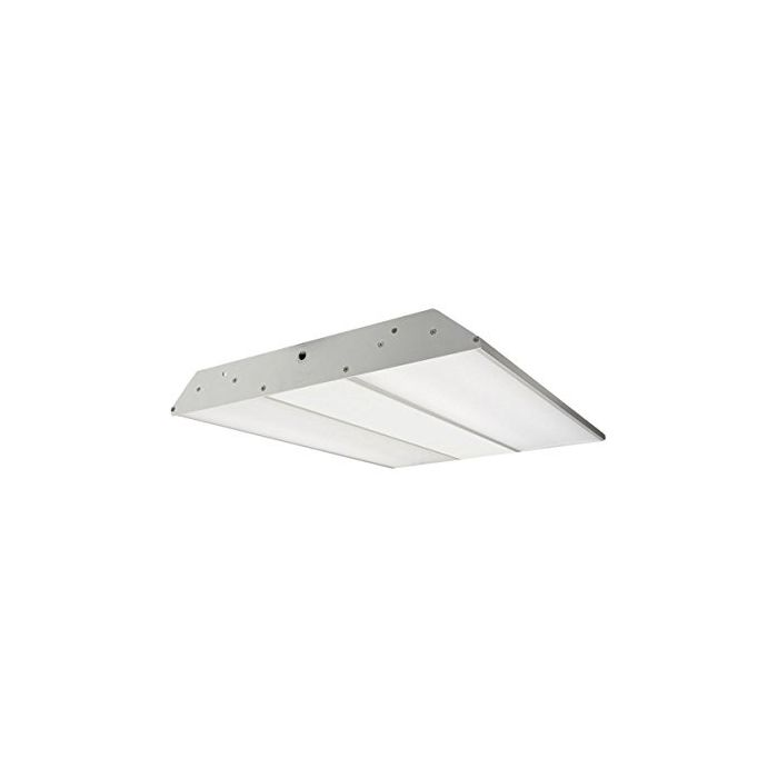 NaturaLED LED-FXHBL300/44FR/850/480 DLC Qualified 300 Watt LED Linear High Bay Fixture 5000K 277-480V Replaces 1000-1250W HID