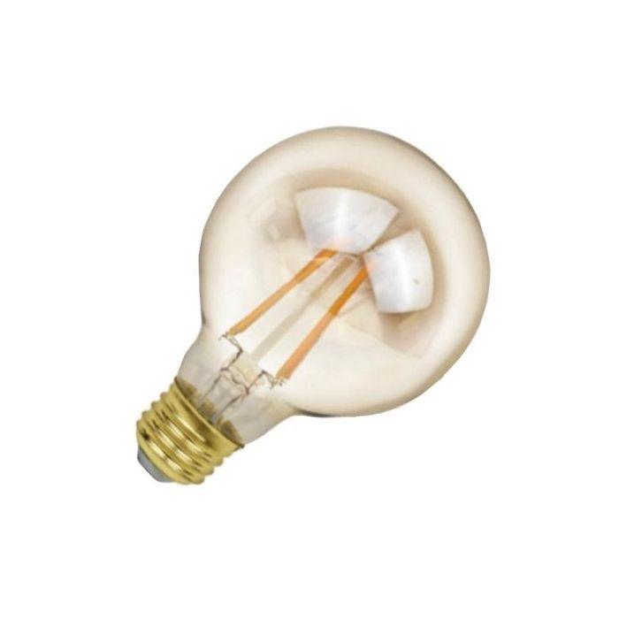 NaturaLED LED5G25/FIL/35L/922 Energy Star Certified 5 Watt LED G25 Filament Lamp E26 Base 2200K Dimmable