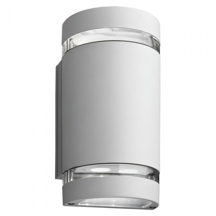 Lithonia Lighting OLLWU LED P1 40K MVOLT WH M6 14 Watt LED Outdoor Wall Cylinder Up and Downlight White